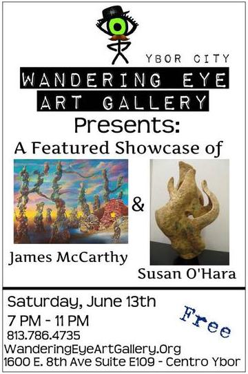 wandering eye gallery show June