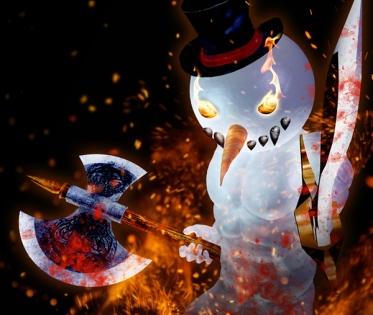 Blood & Ice Snowman
