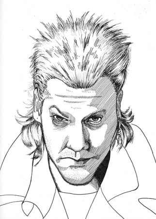 Kiefer Suthlerand as David from The Lost Boys