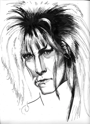 "Jareth the Goblin King (David Bowie, ""Labyrinth"")"